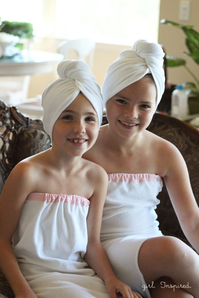 towel hair wrap instructions