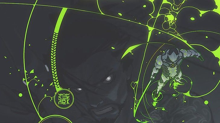 Genji Overwatch with Hanzo Wallpaper