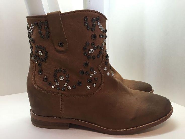 Zigi Girl Womens Brown Boots Size 7.5  #ZigiGirl #FashionAnkle