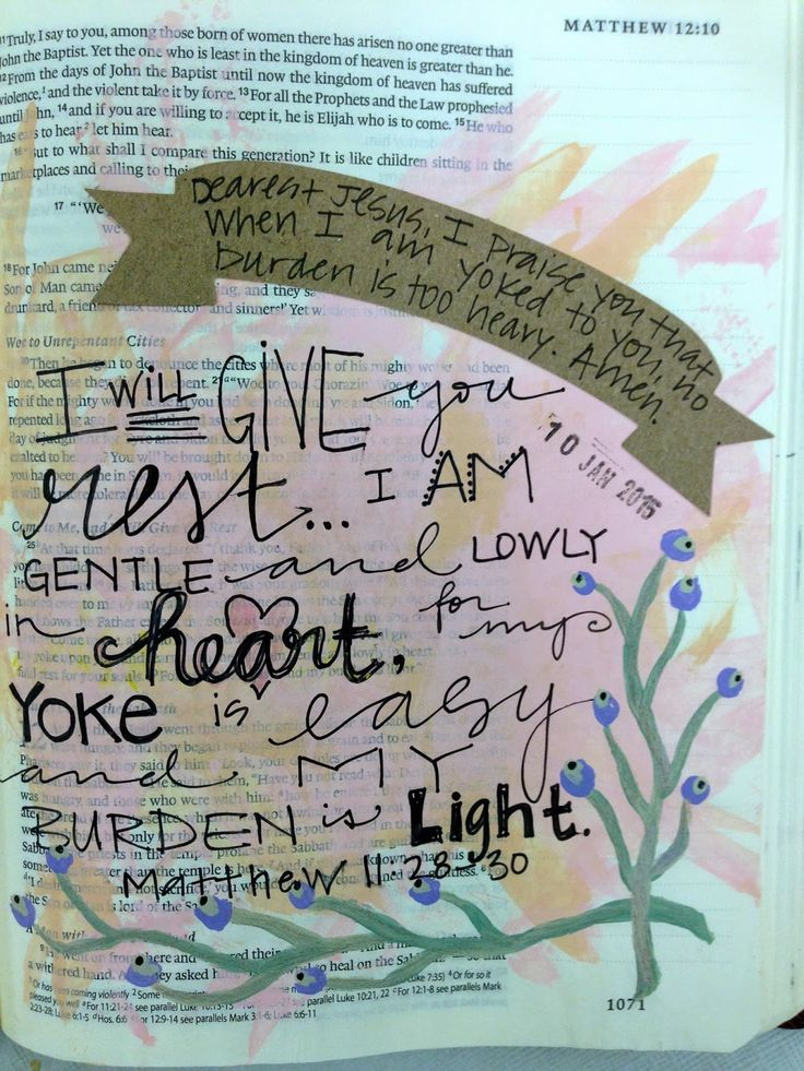 JOURNEYS of FAITH: Holly Borrasso- Bible Journaling