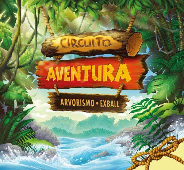 Circuito Aventura - Iguatemi Caxias on Behance