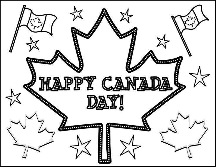 #canadaday2015 #canadaday #happycanadaday Canada Day Coloring Pages