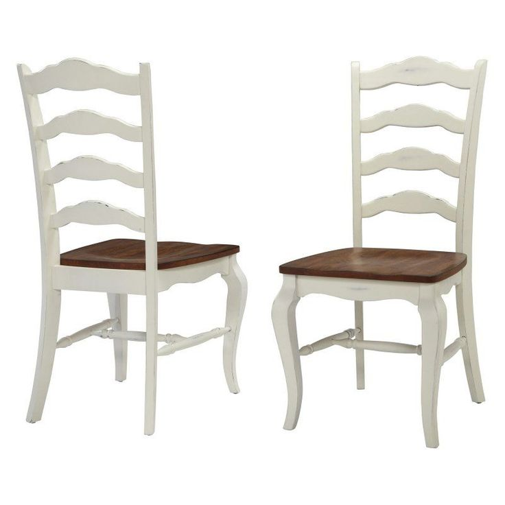 Home Styles The French Countryside Oak Dining Chairs Set Of 2 5518 802