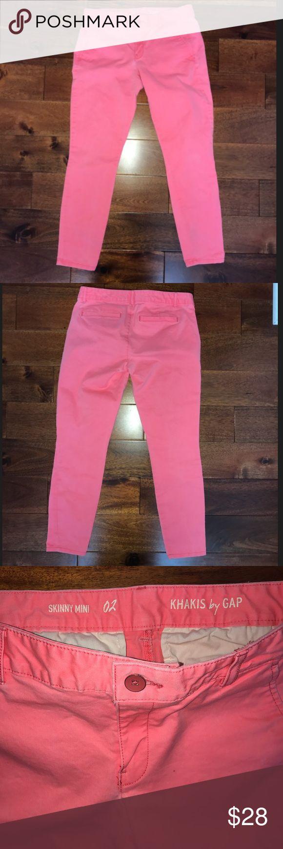 GAP Peach Pink Skinny Jeans GAP Peach Pink Skinny Jeans. Worn once! GAP Jeans Skinny