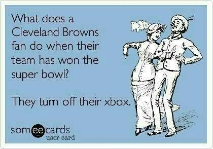 Ah Cleveland Browns lol