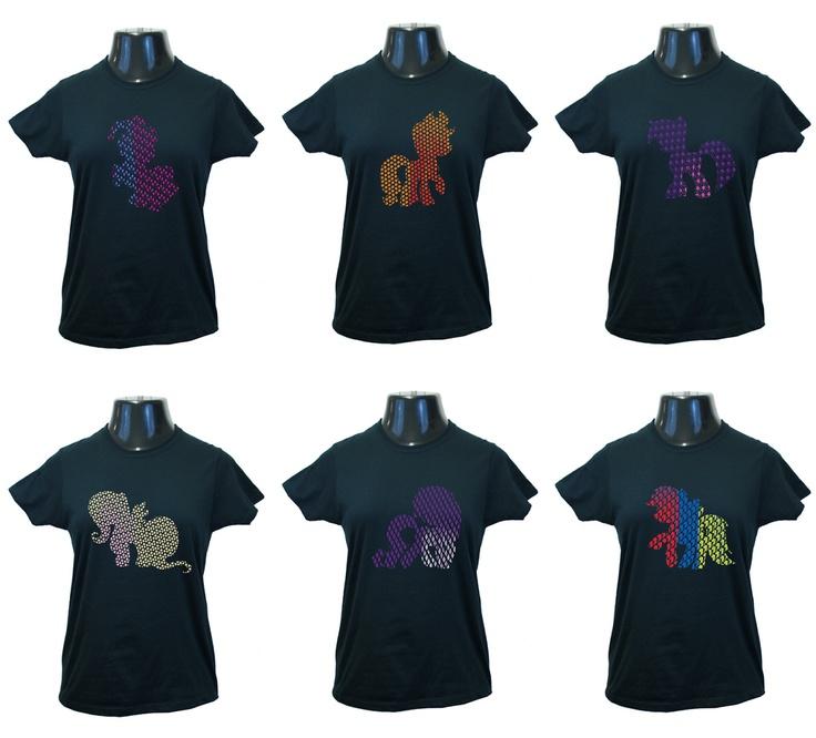 My Little Pony T Shirts Twilight Sparkle Rainbow Dash