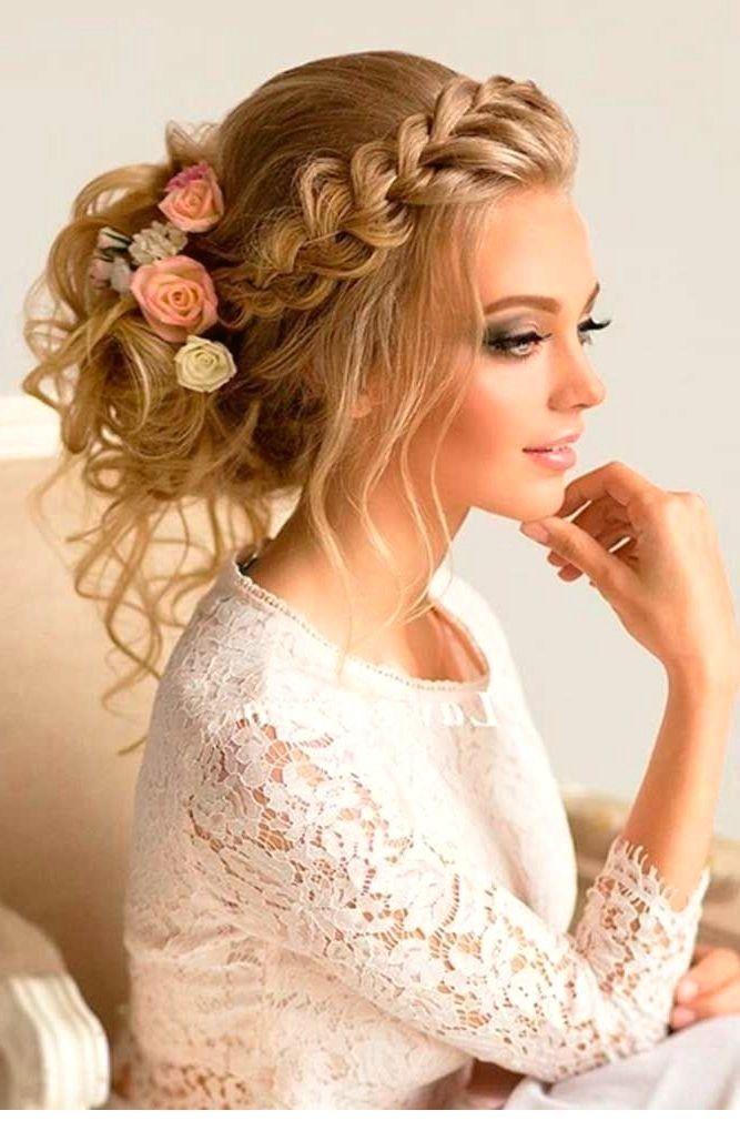 Adorable  Summer Wedding Hairstyles