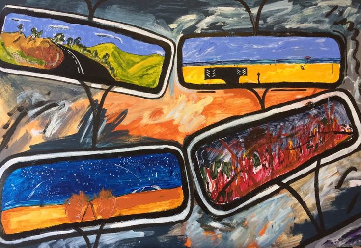 Arts Open 2018: Meet the Makers | March 10-12 and 17-18 Meet contemporary painter Ron Holden in his studio at our visual art festival in Castlemaine and surrounds.