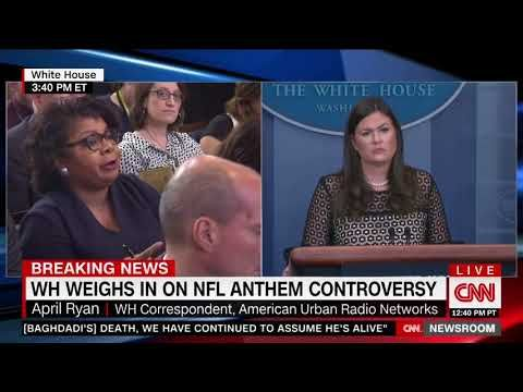 April Ryan Shut Down by WH Sec: 'Nothing Wrong with Having Pride in the U.S.' | Truth Revolt