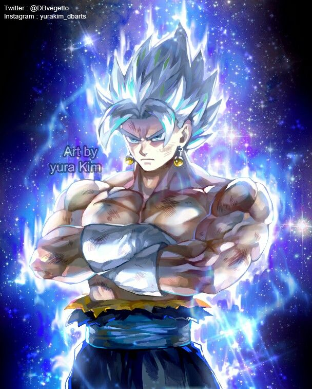 7c56efc76df Vegito Ultra Instinct. Vegito Ultra Instinct Dragon Ball Z
