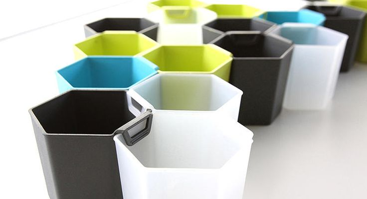 6 | Honeycomb Storage Units Are The Bee's Knees | Co.Design | business + design