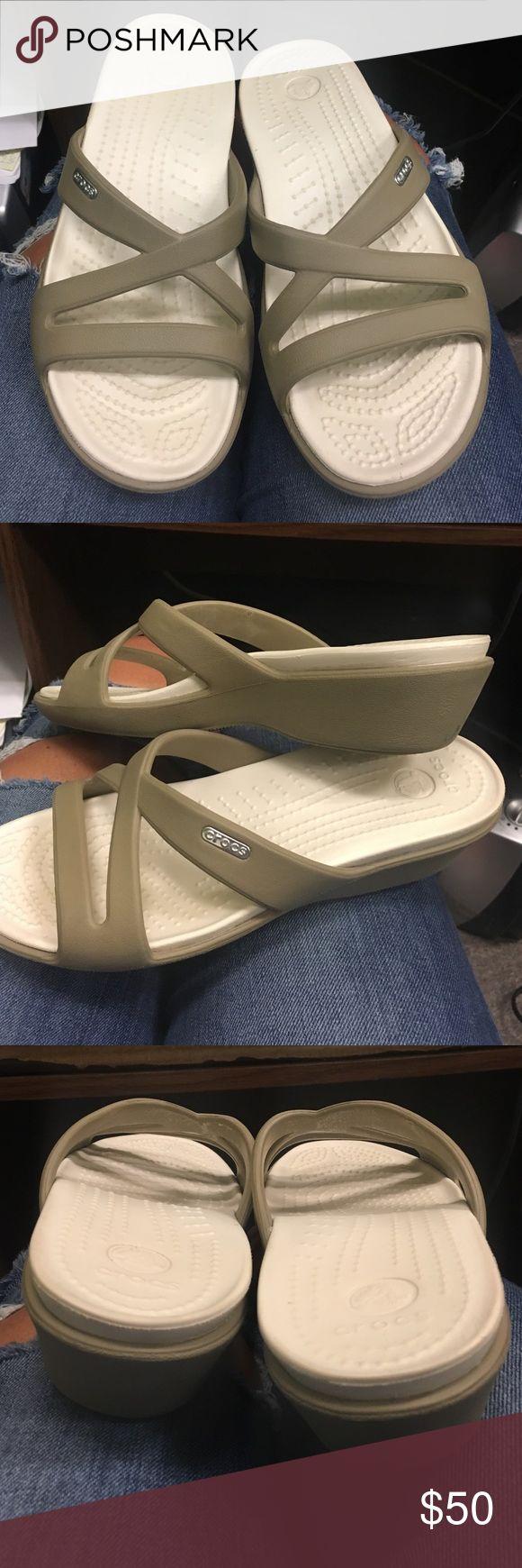 Croc sandals New! Very comfy CROCS Shoes Sandals