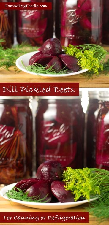 Canning Dill Pickled Beets.
