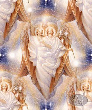 Arcángeles Gabriel y Esperanza  Archangel Gabriel and Lady Hope