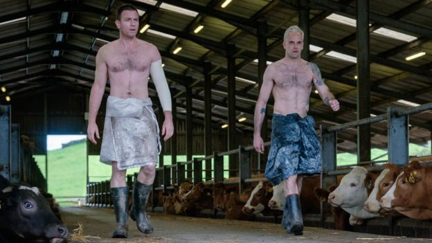 Ewan McGregor and Jonny Lee Miller in T2: Trainspotting