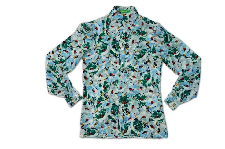 Vintage Cacharel Abstract Shirt.
