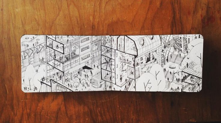 Fantasmas urbanos. #dibujo #arquitectura #sketch #drawing #architecture #ciudad #city #urban #urbano #art #moleskine #arte #lamy