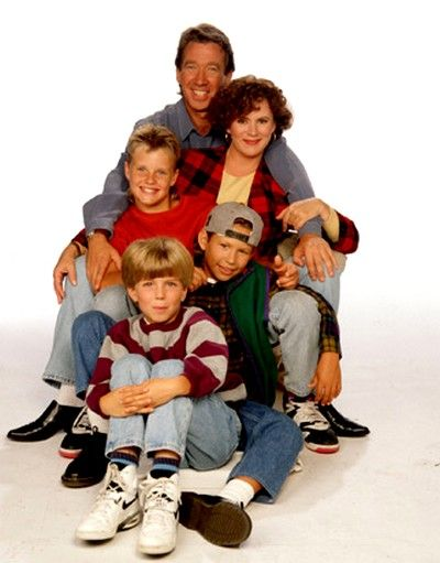 One of my very favourite shoes of the 90s: Home Improvement (especially their Halloween episodes).