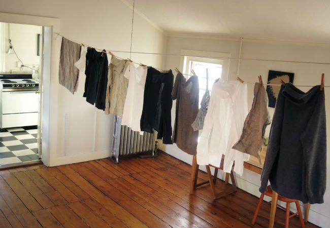 Retractable Clothesline Inside