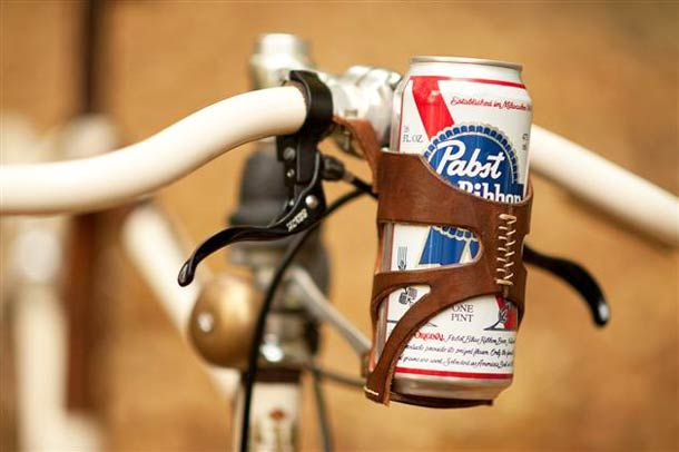 Bike Beer Can Holder - Wall to Watch