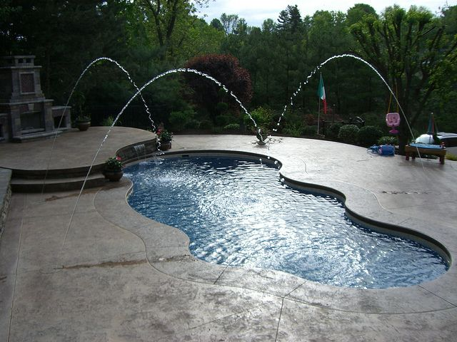 196 best let 39 s take a dip images on pinterest luxury for Pool design mcmurray pa