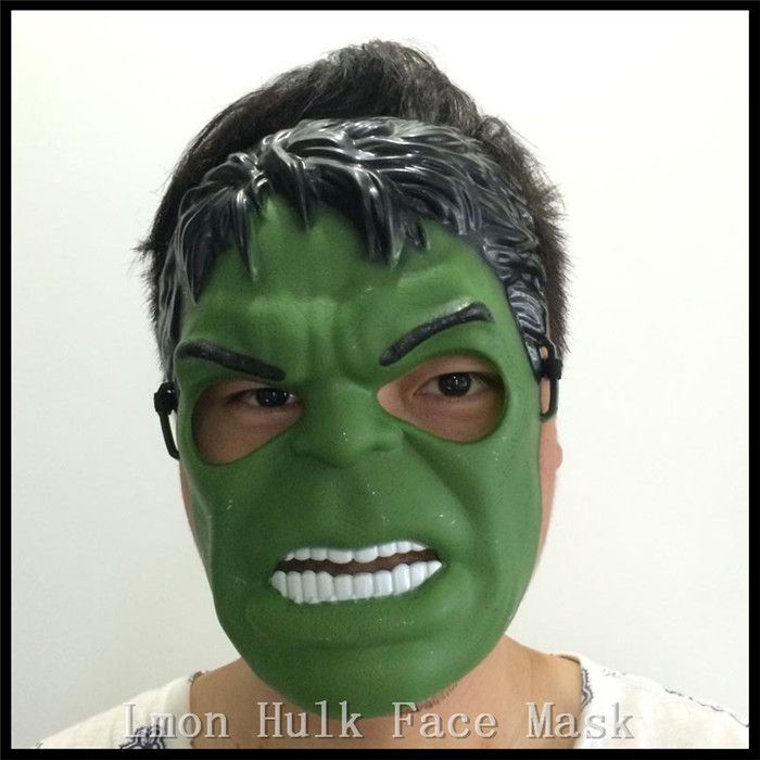 Free shipping New Arrival Halloween Party Cosplay Hulk Mask Party Costume Cosplay Child Kid Toy Movies Film Face Mask in stock