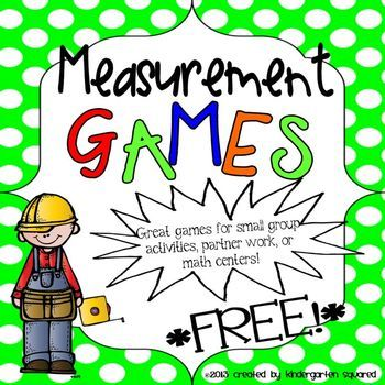 3 FREE games to help your kiddos work on CCSS K.MD.2 which focuses on comparing measurable attributes!