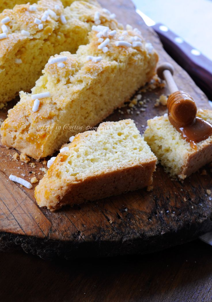 Ciambella ferrarese brazadela dolce morbido veloce vickyart arte in cucina