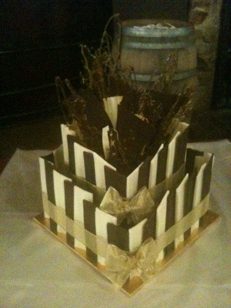 Chocolate Mud Cake. Delivered to Stoneyfell Winery