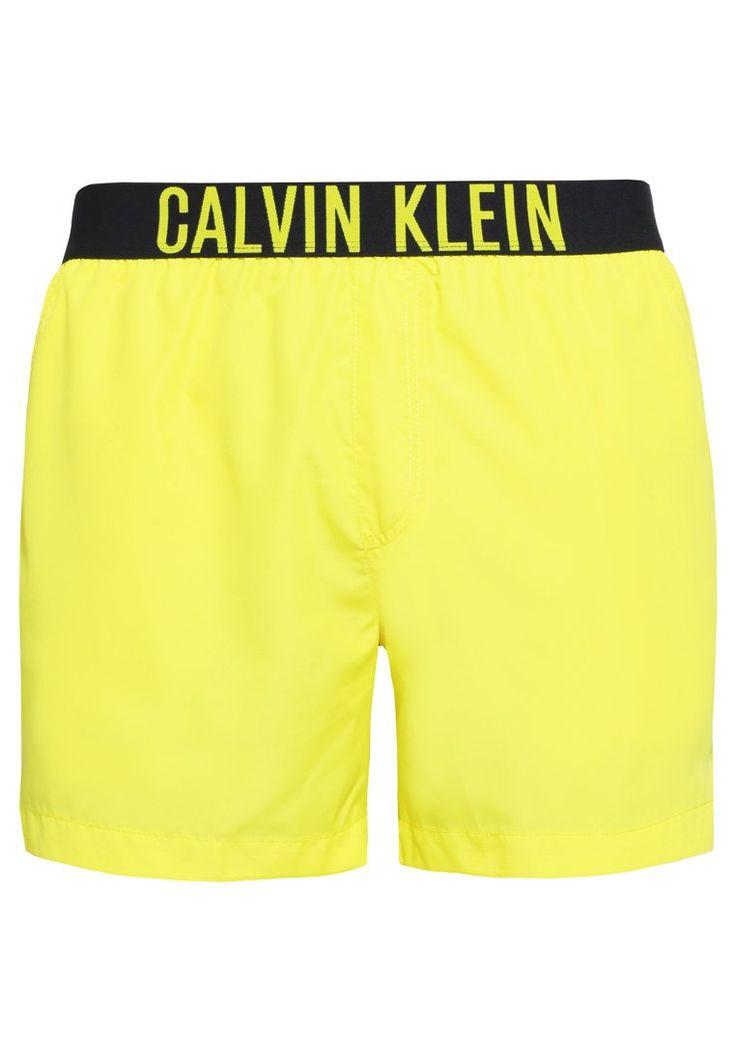 Calvin Klein Swimwear Szorty kąpielowe blazing yellow/black