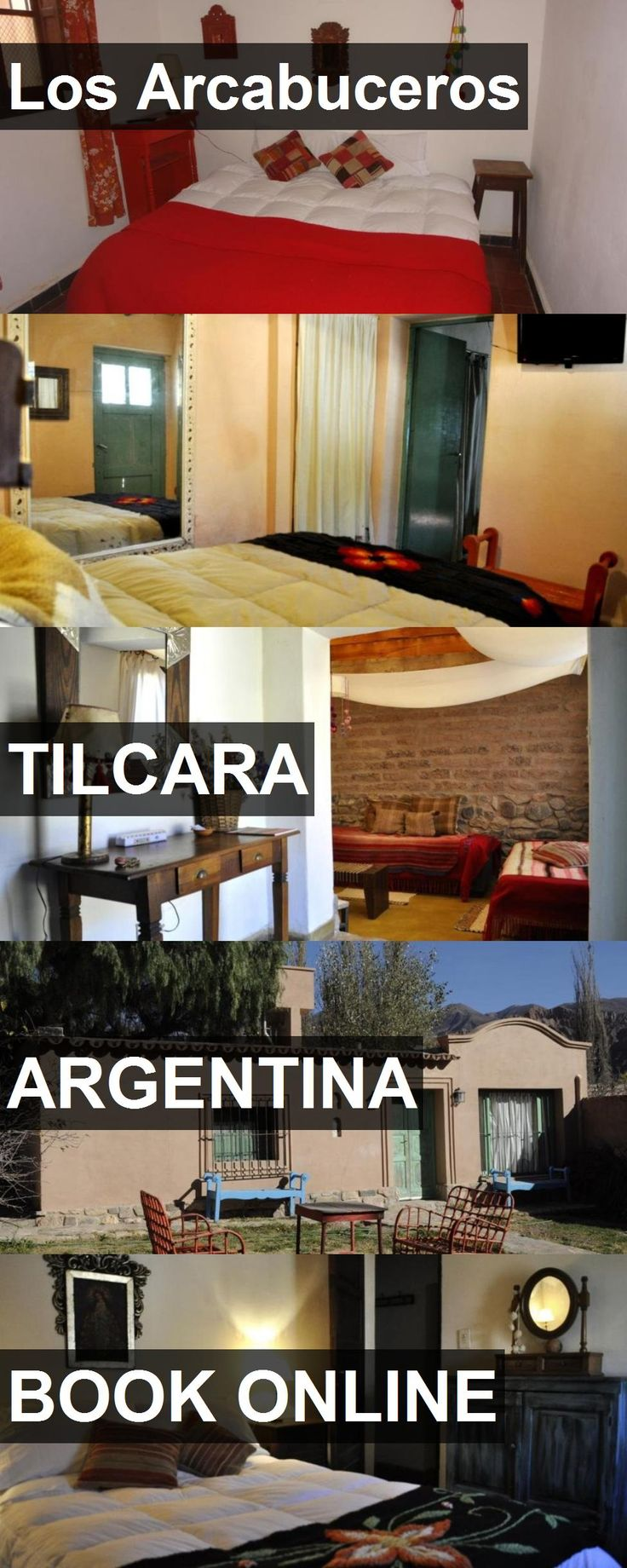Hotel Los Arcabuceros in Tilcara, Argentina. For more information, photos, reviews and best prices please follow the link. #Argentina #Tilcara #travel #vacation #hotel