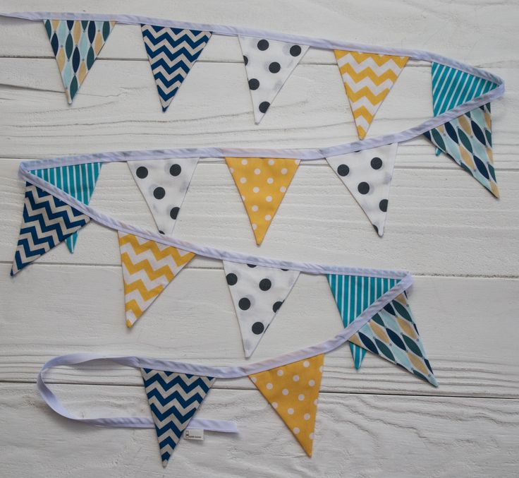 Mini Bunting (also available in large) - 3m long // $35.00 // www.facebook.com/milkkmoney