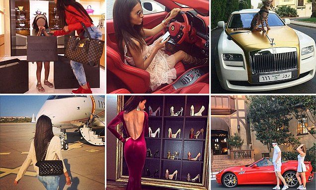 Rich parents of Instagram show off lavish lifestyles | Daily Mail Online