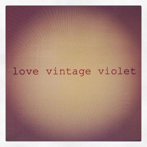 love vintage violet