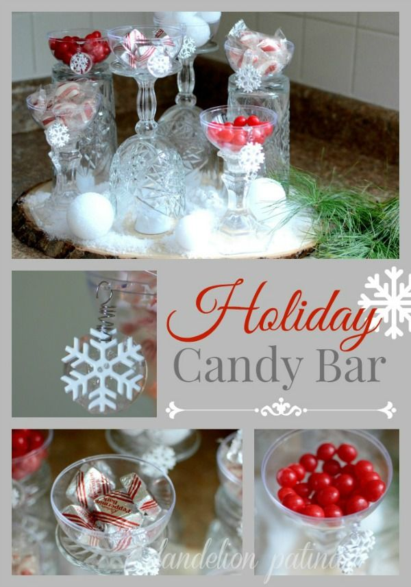 Holiday candy bar holiday inspiration beautiful for Homemade candy for christmas recipes