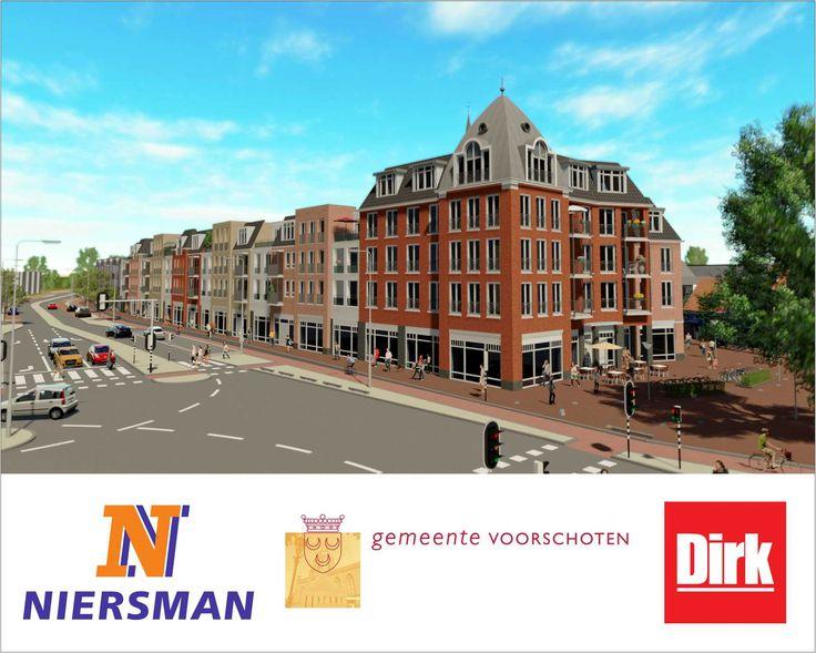 Na jarenlange voorbereiding, planvorming en procedures is op woensdag 27 augustus de overeenkomst getekend tussen de heer Dirk-Jan van den Broek (D-winkels) en Mark Niersman (Bouwbedrijf Niersman) voor de realisatie van het Deltaplein project in het centrum van Voorschoten. | www.niersman.com