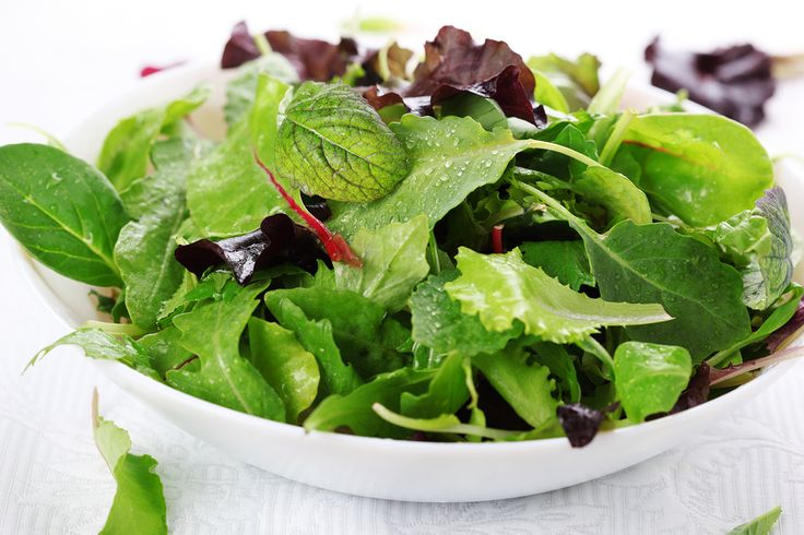 GREEN LEAF SALAD WITH LEMON DRESSING AND FRESH HERBS - MarouliBest© (Hydroponic Lettuce)