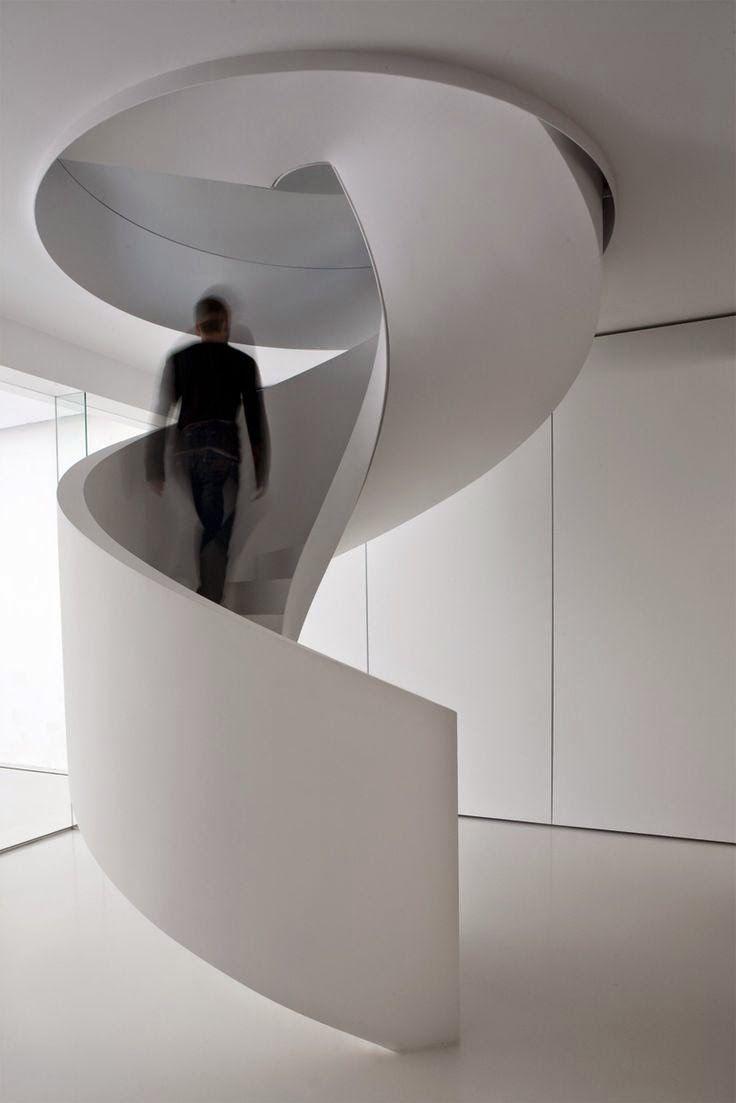 Las 25 mejores ideas sobre escaleras circulares en - Dimensiones escalera de caracol ...