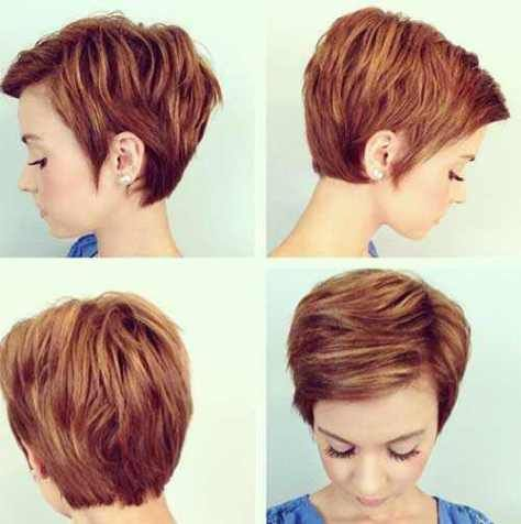short layered pixie haircuts 2016