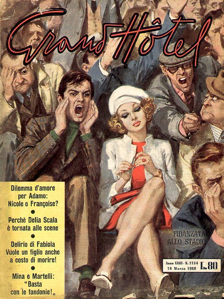 Walter Molino, Grand Hotel, ed. Universo, March 1968
