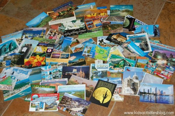 """Love this idea for geography fun at home {and cheap """"travel""""}!"""