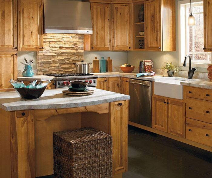 Rustic kitchen cabinets office ideas pinterest for Small rustic kitchen ideas