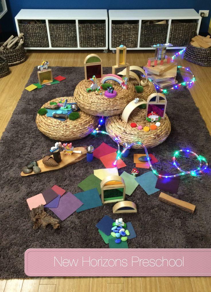 Gorgeous Faerie Small World Play @ New Horizons Preschool - Fantasy Preschool Theme