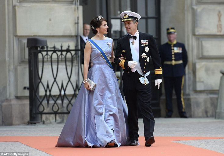 Wedding of Prince Carl Philip of Sweden and Sofia Hellqvist, June 13, 2015-Crown Princess Mary and Crown Prince Frederic