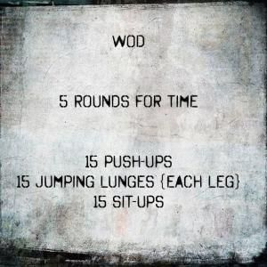 #wod #crossfit #workout by J.H.