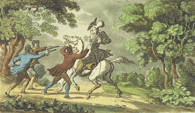In The 18th Century, Wig-Stealing Bandits Roamed England's Countryside