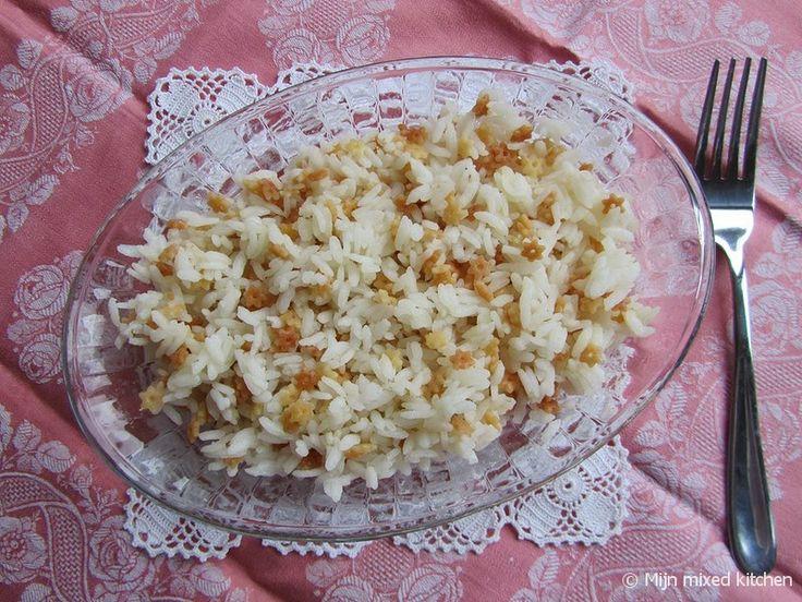 Şehriyeli pilavı (Turkse rijst met vermicelli)
