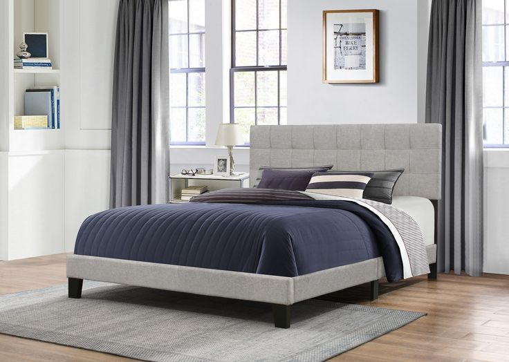Gray Fabric, Upholstered Beds, Bed In, Glacier, One Kings, Patio - 17 Best Images About Better In The Bedroom From Home And Patio