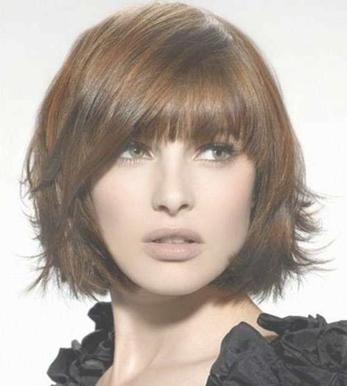 15 Photos Bob Haircuts For Thick Hair With Bangs Bob Haarschnitt