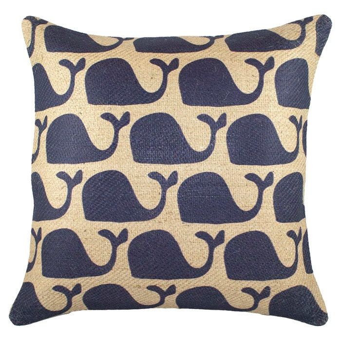 Cetacea Pillow @Kat Ellis Holland :-) @Lindsay Dillon Holland